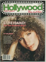 Hollywood Studio Magazine Then And Now Feb 1988 Barbra Streisand Cover  - $12.19