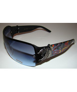 Black Tattoo Designer Wrap Sunglasses Panther Snake Von Dolce Brand Men Womens - $10.99
