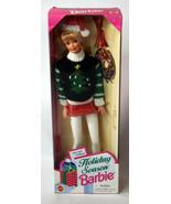 Mattel BARBIE Girls Doll NIB Holiday Season Ugly Sweater Santa Hat - $18.99