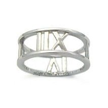 Sterling Silver Designer Inspired Band Ring - SIZE 9 (LAST 1) image 1