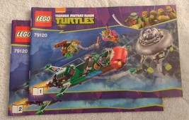 2014 LEGO TMNT T-Rawket Sky Strike INSTRUCTION MANUAL ONLY (79120) NEW - $12.00