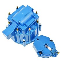 A-Team Performance CR6951BL 8-cylinder HEI OEM Distributor Cap, Rotor and Coil C