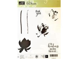 Stampin' Up! Lotus Blossom Clear Stamp Set #139173 - $13.99