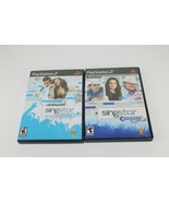 Singstar Pop & Country Playstation 2 PS2 Combo Games - $22.77