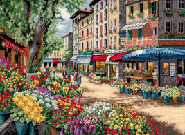 """Dimensions Gold Collection Counted Cross Stitch Kit 15""""X11""""-City View (18 Count) - $52.45"""