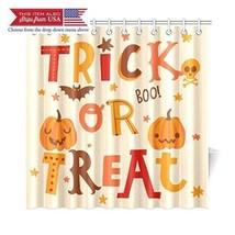 InterestPrint Cute Halloween Pumpkin Home Decor, Trick or Treat Boo Poly... - $29.82