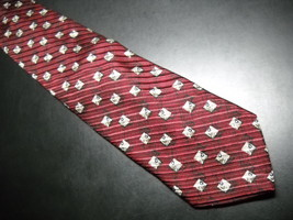 Joseph Abboud Neck Tie Italian Silk Design No 70211 - $12.99