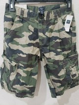 NWT Boys Gap Kids Camo Cargo Shorts Size 12 - $19.99