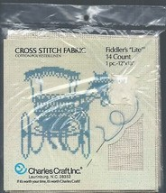 """Charles Craft Fiddler's Lite 14 Count Cross Stitch Fabric 1pc. 12"""" X 18"""" Oatmeal - $12.99"""