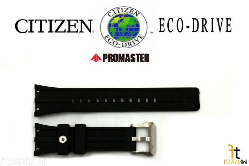 Primary image for Citizen 59-S53309 Original Black Rubber Watch Band 59-S51999 fits BJ2145-06E