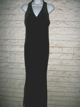 HOLIDAYS NEW YEAR  BLACK VELVET LONG DRESS sz 6  JESSICA HOWARD SEQUINED... - €26,01 EUR