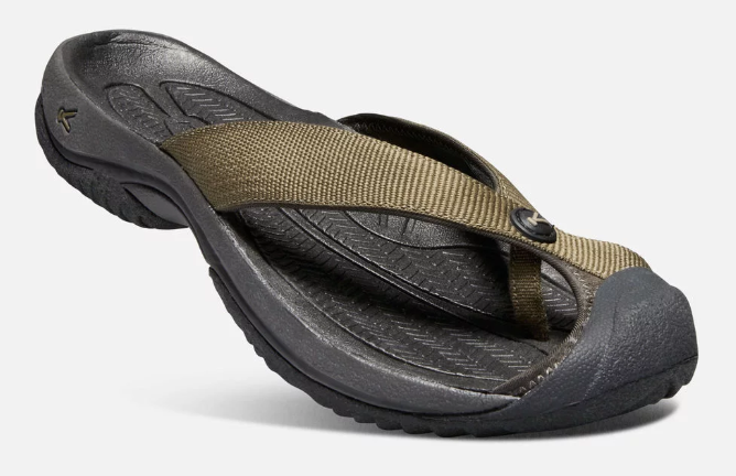 Keen Waimea H2 Size US 9 M (D) EU 42 Men's Slip On Sandals Dark Olive / Black