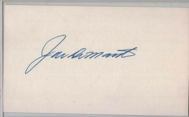 Joe DeMaestri Auto/Autograph 3x5 Index Card White Sox/Athletics (1928-2016) - $8.96