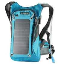 Sports Backpack with Solar Charging Panel and 1.8L Water Reservoir - $1.617,00 MXN