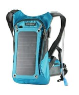 Sports Backpack with Solar Charging Panel and 1.8L Water Reservoir - £62.97 GBP