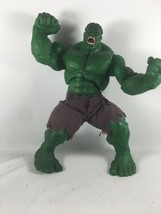 Incredible Hulk 2003 Movie 12 Inch Posable Action Figure With Cloth Pants - $35.00