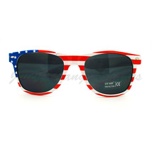 USA Flag Print Sunglasses Red White & Blue Star Spangled Banner Shades - $9.85