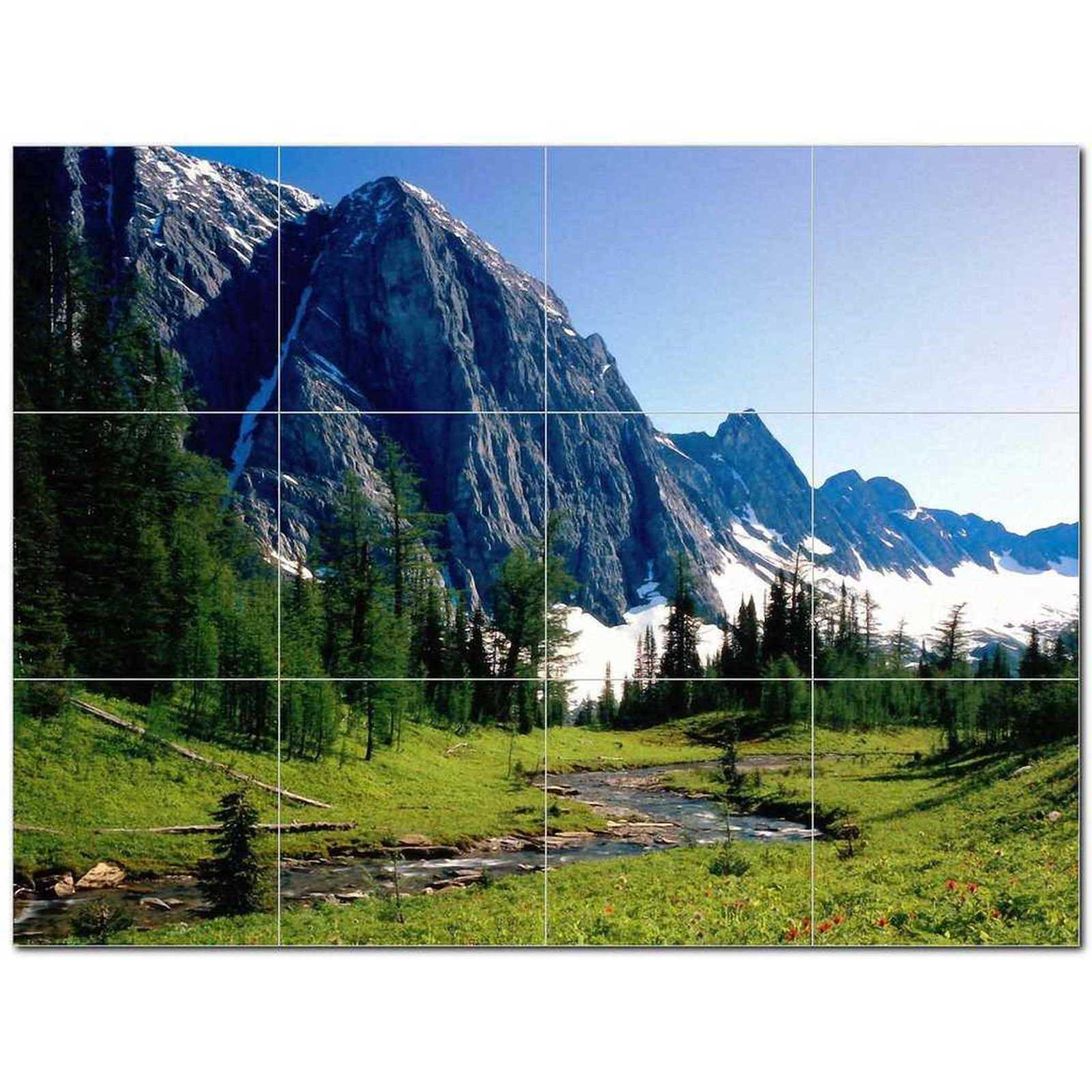 Primary image for National Park Ceramic Tile Mural Kitchen Backsplash Bathroom Shower BAZ405674