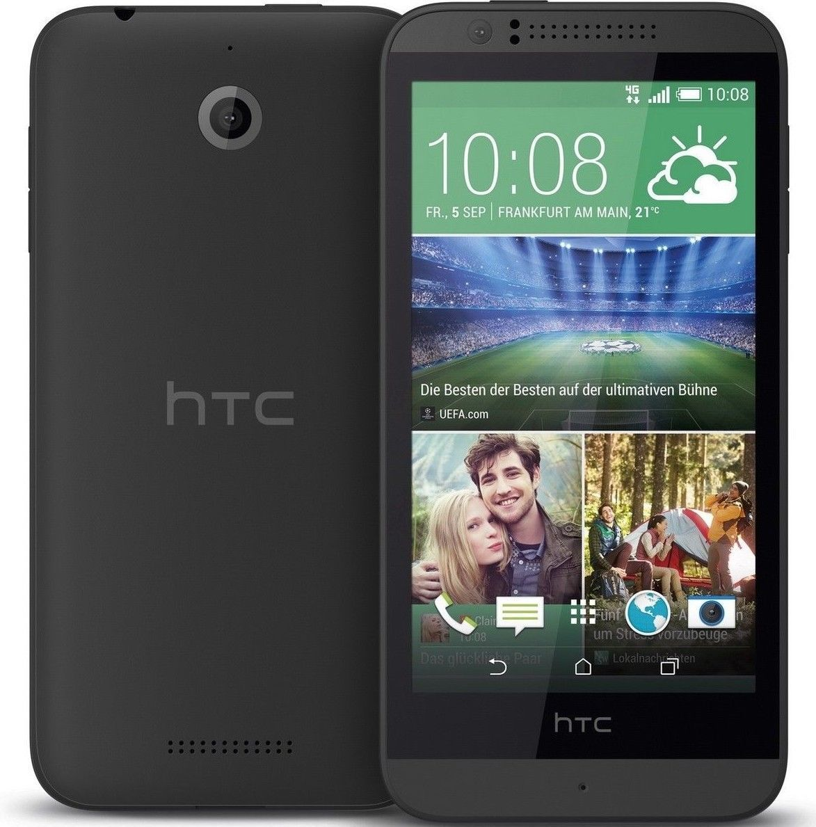 HTC Desire 510 - 8GB (GSM UNLOCKED) 5.0MP Smartphone   Black