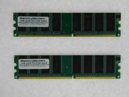 2GB (2X1GB) DDR Memory HP Evo D220