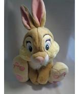 Disney Store Genuine Original Miss Bunny Thumper Bambi Friend Soft Plush... - $14.36