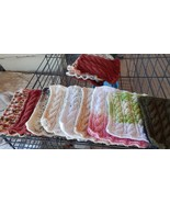 HAND KNITTED BATHING CLOTHS 100% COTTON buy 2 @5.99 get one free - $15.99