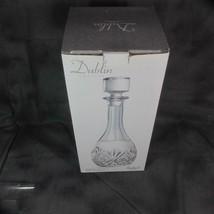 Dublin Crystal Wine Decanter, New, Shannon Crystal by Godinger - $13.09