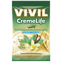 Vivil Creme Life Hard Candies: Mint Vanilla -1 Bag -Sugar Free Free Us Shipping - $8.86