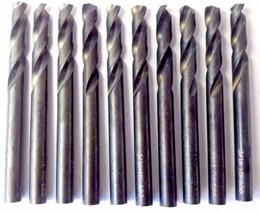 "Bosch 2610951422 Fractional Stubby 3/16"" Black Oxide Drill Bits 10pcs. - $4.46"