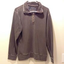 Vintage GAP San Francisco California Half Zippered Sweatshirt Sz L