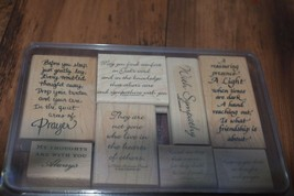 Stampin up sympathy stamp set - $15.00
