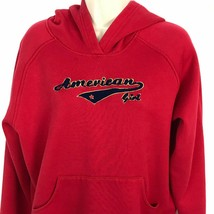 Girls American Girls Size XL 18 / 20 Red Hoodie Pullover Sweatshirt - $18.31