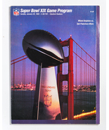 Super Bowl XIX Program, Miami Dolphins vs San Francisco 49ers, Stanford, CA - $20.00