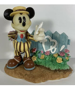 Enesco Mickey Mouse Figure Somebody Loves Me #292869 Valentine's Day Disney - $9.89