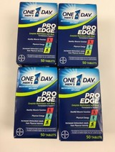 4x One a Day Mens Pro Edge Multivitamin 200 Tablets Total 2021 Dates - $32.67
