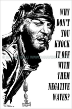 Kelly's Heroes: Oddball Says (b/w) -Art Print/Poster (various sizes) - $19.99+