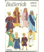 Butterick Sewing Pattern 6505 Children's Costum... - $9.98