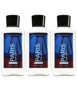 Bath & Body Works Paris For Men Body Lotion 8 fl oz / 236 ml Set Of 3 Bo... - $28.49