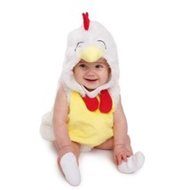 Dress Up America Costume adorable de bébé poulet coq peluche  - $32.78