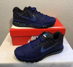 Nike Air Max 2017 Mens Shoes Dark Blue Red 849559 007 New