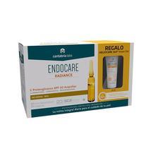 Endocare C Proteoglicanos Spf 30 Ampollas + Heliocare 360 Water Gel 15Ml - $98.49