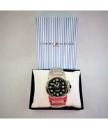 Tommy Hilfiger Mens Stainless Steel Water Resistant Casual Sport Watch 2007 - $108.75