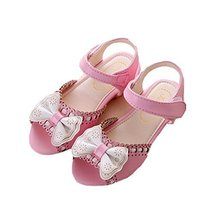 Sandals Summer Girls Sandals Princess Shoes Bow Girls Shoes Baby Shoes Children