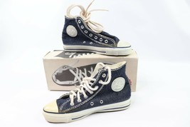 Vtg 90s New Converse All Star Hi Mens 5.5 W 7.5 Chuck Taylor Inside Out ... - $267.25
