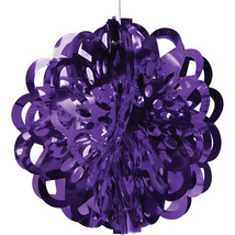 Shinning Moments Diecut Foil Ball 16 inch Purple/Case of 12 - $105.97 CAD
