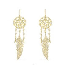 AUTHENTIC APM MONACO DREAM CATCHER EARRINGS DROP DANGLE NEW