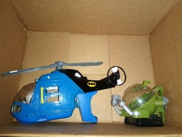 Fisher Price Imaginext DC Batman Helicopter Vehicle No figures - $33.85