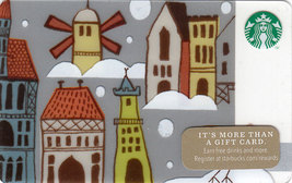 Starbucks 2014 Windmill Collectible Gift Card New No Value - $3.99