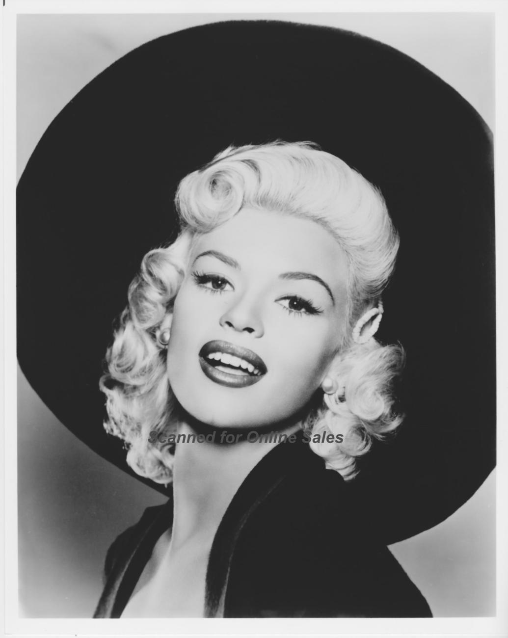 Jayne Mansfield Big Hat The Girl Can't Help It 8x10 Photo