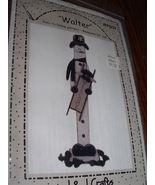 WOODWORKING PATTERN GREETER WALTER SNOWMAN  NEW - $9.99